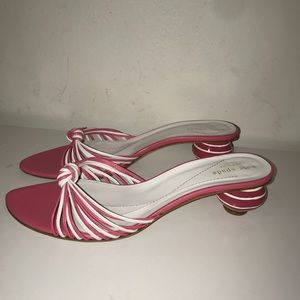 Kate Spade sandals with ball heel size 9